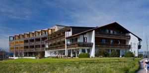 Außenansicht Wellness Hotel Kaufmann im Allgäu