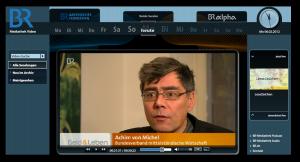 BR Interview Achim von Michel