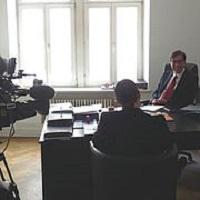 Achim von Michel Interview Schweizer Fernsehen