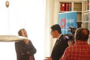 Interview mit der italienischen RAI