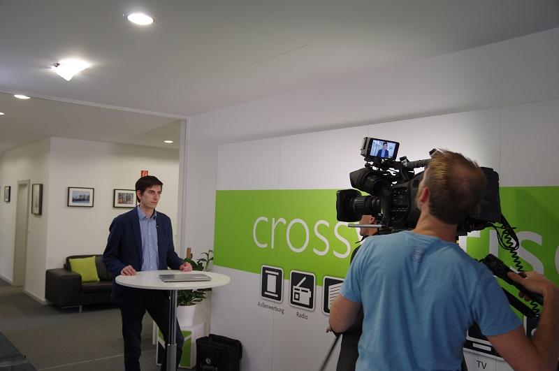 Foto RTL Interview Nachtjournal crossvertise