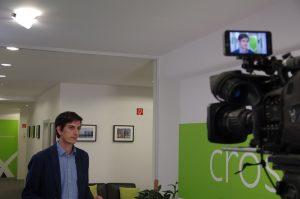 Interview für das RTL Nachtjournal: crossvertise CTO Maximilian Balbach