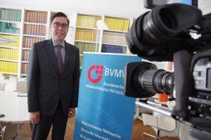 Interview für die RTL Nachrichten