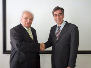 Mit ProF. Klaus Weiler, Vorstand Bundesverband Födermittelberater