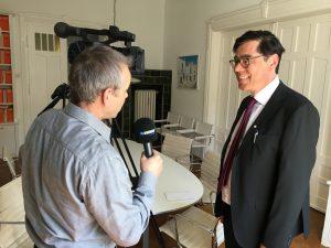 TV Interview als BVMW-Pressesprecher