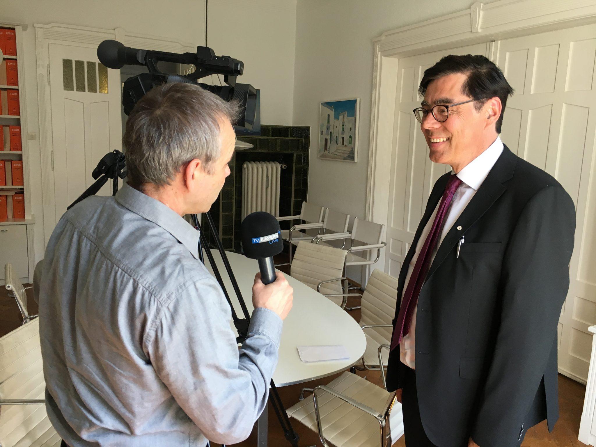 TV statement Achim von Michel BVMW