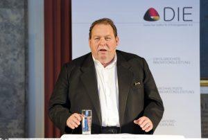 Kabarettist Ottfried Fischer im Deutschen Museum in München