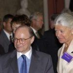EPA-Präsident Pompidou mit Frau