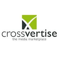 Logo crossvertise startup pr wordup