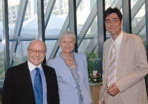 Sommerempfang Europäisches Patantamt mit Präsident Prof. Alain Pompidou und Frau