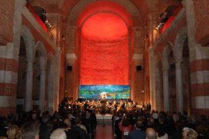 Verabschiedung von Prof. Alain Pompidou (EPA) in der Allerheiligen  Hofkirche