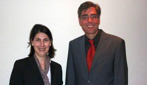 Mit Staatssekretärin Katja Hessel (FDP)
