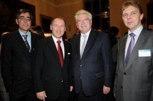 Event mit Bayerns Wirtschaftsminister Dr. Martin Zeil (2.v.r.)