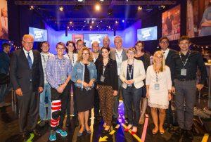 Event Facebook Pro mit Thomas Kreuzer (CSU, ganz links im  Bild)