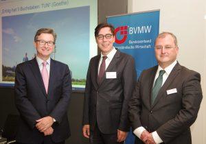 Projektstart GeMit München mit Prof. Dr. Wolfgang Caselmann (StmWi Bayern, links)