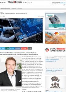 crossvertise werbung markt+technik Artikel