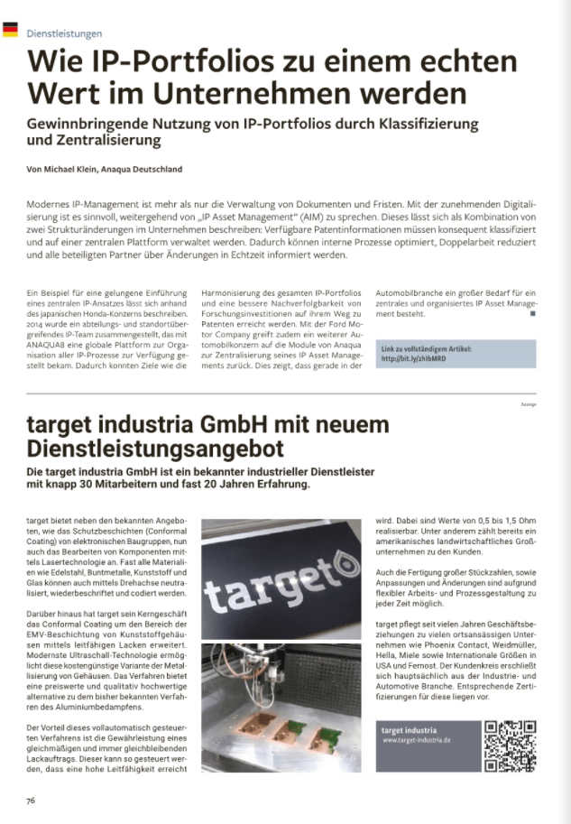 Anaqua Clipping OEM & Lieferant