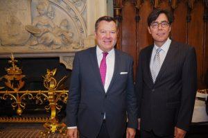 Empfang im Rathaus München mit Bürgermeister Josef Schmid (CSU)