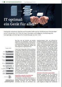 """Magazin """"Der Mittelstand"""" SimpliVity"""