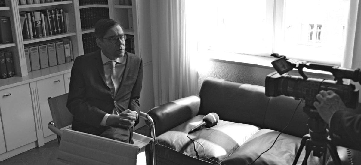 Foto Achim von Michel Interview BayernTV