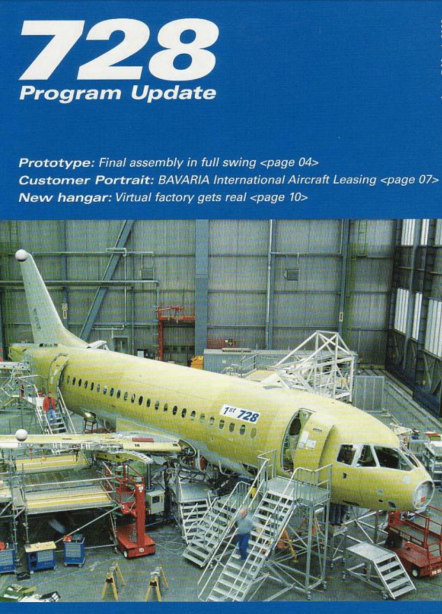 Fairchild Dornier Kundenmagazin Seite 5