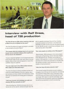 Fairchild Dornier Kundenmagazin Seite 2