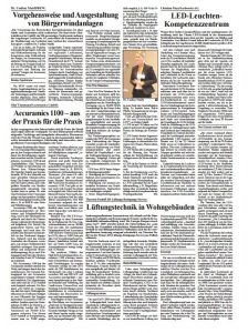 Accuramics Clipping Gemeindezeitung