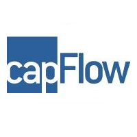Cap Flow Logo WORDUP PR Financial Services