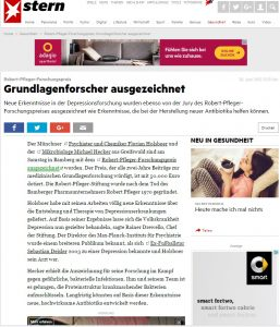 Clipping Pfleger Stiftung Stern Online