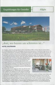 Hotel Kaufmann im Käfer Magazin