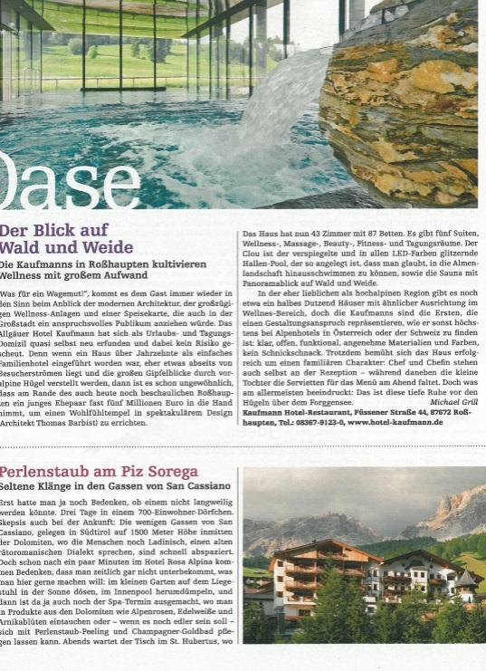 Hotel Kaufmann im SZ Magazin