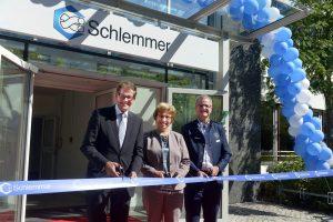 Schlemmer Group Eröffnungsfeier 2017 in Aschheim