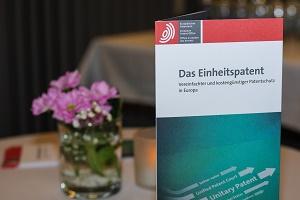 Veranstaltung Europäisches Einheitspatent München