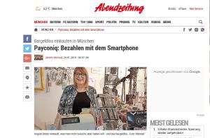 Abendzeitung München payconiq Start
