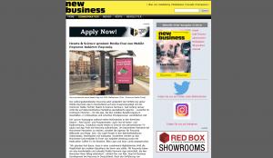 Etatmeldung Payconiq Werbung New Business