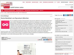 Informationsdienst kreditwesen.de zum Payconiq-Start