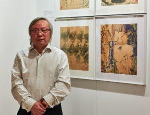 Fu Wenjun auf der ARTMUC 2018 (Bildnachweis: Rodrigo Stix Luna)