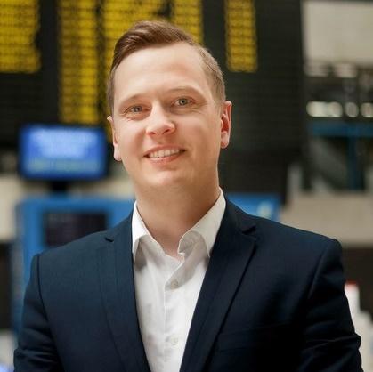 Marius Stonkus (31), Skycop CEO