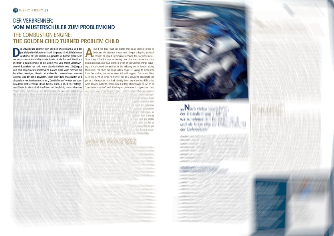 Diplomatisches Magazin: TWS Partners zur Automobilindustrie