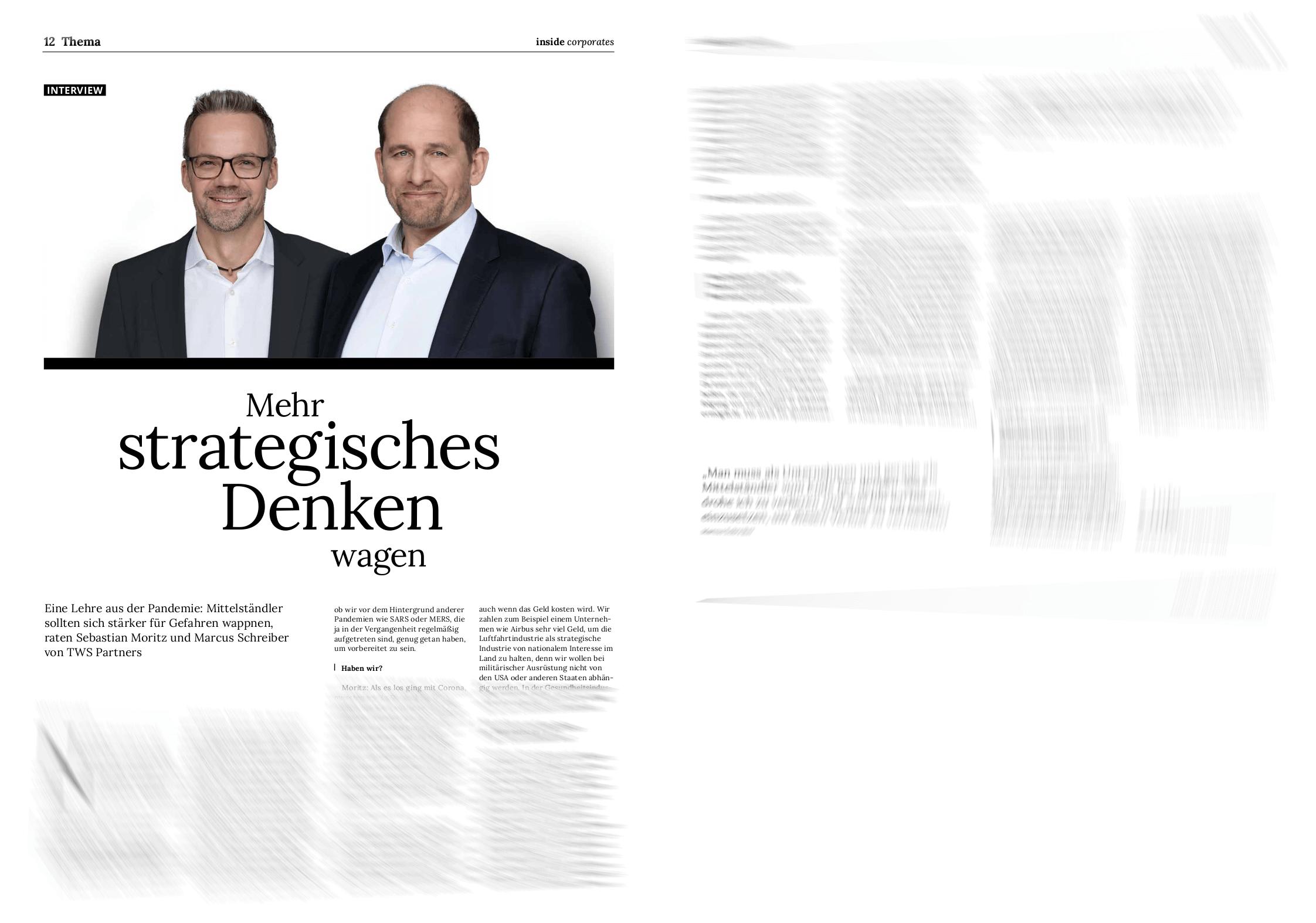 Deutscher Mittelstand TWS Partners inside corporates