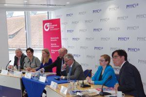 Podiumsdiskussion zur Europawahl 2019 im Presseclub München