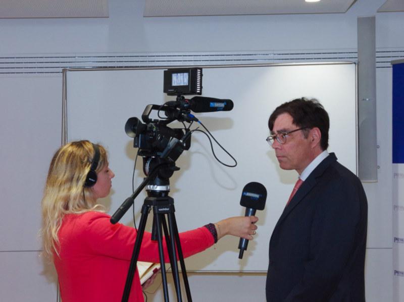 Europawahl 2019: TV-Interview im Presseclub München Achim von Michel