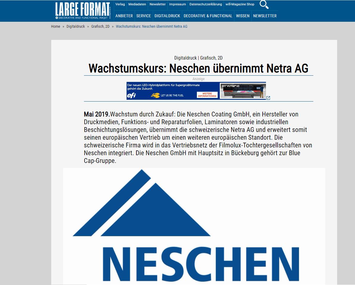 PR Blue Cap Neschen