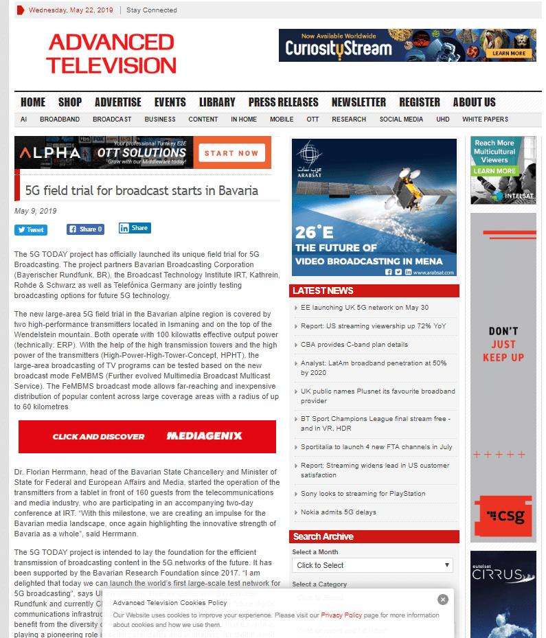 TV Zukunft PR Agentur