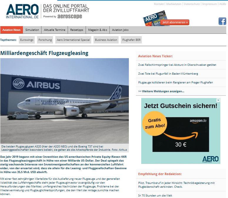 Luftfahrt Public Relations WORDUP in München