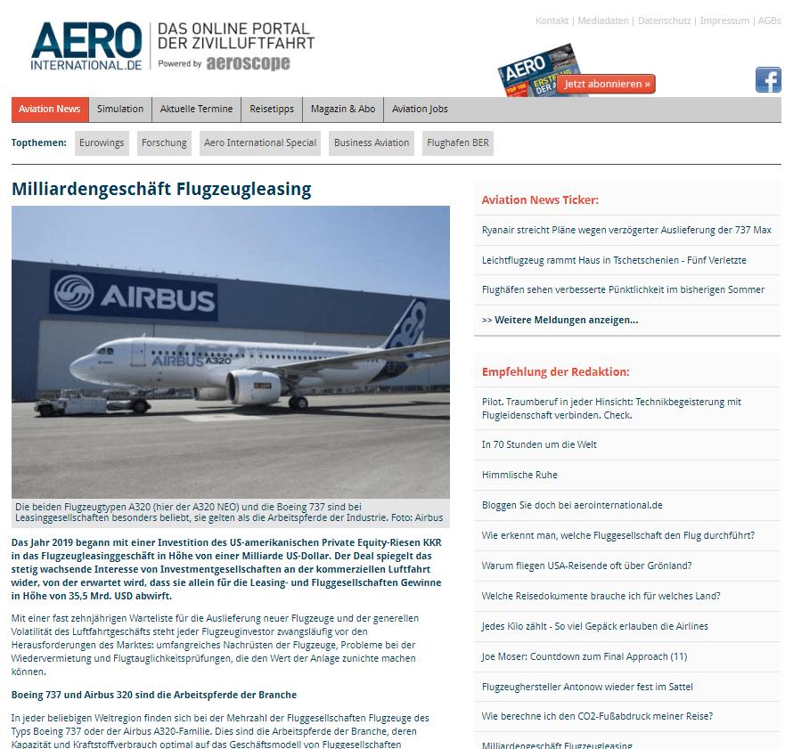 Gedimidas Ziemelis Gastbeitrag Aero International