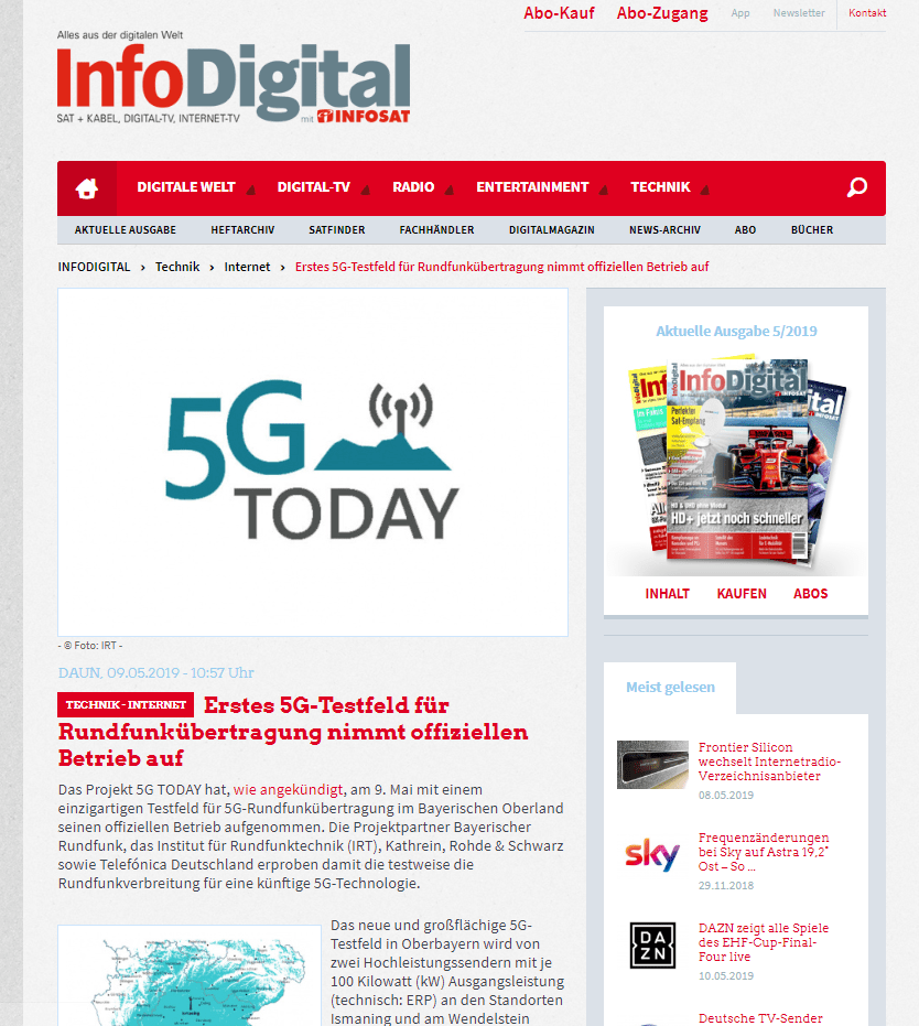 5G Today InfoDigital