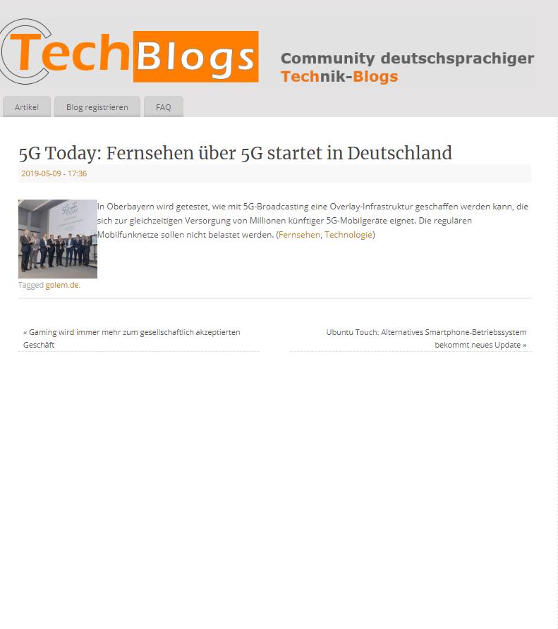 Techblog PR Agentur Digitalisierung