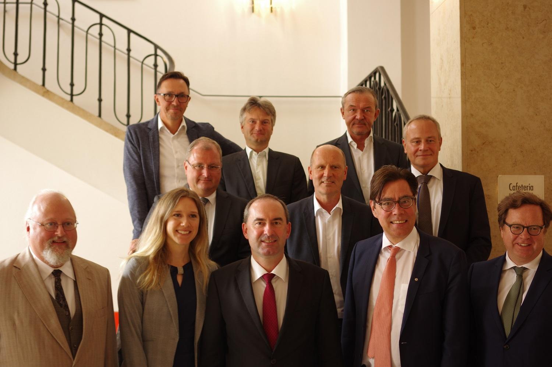 Achim von Michel Wirtschaftsministerium Bayern Hubert Aiwanger 2019
