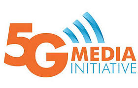 Logo 5G media initiative broadcast public relations